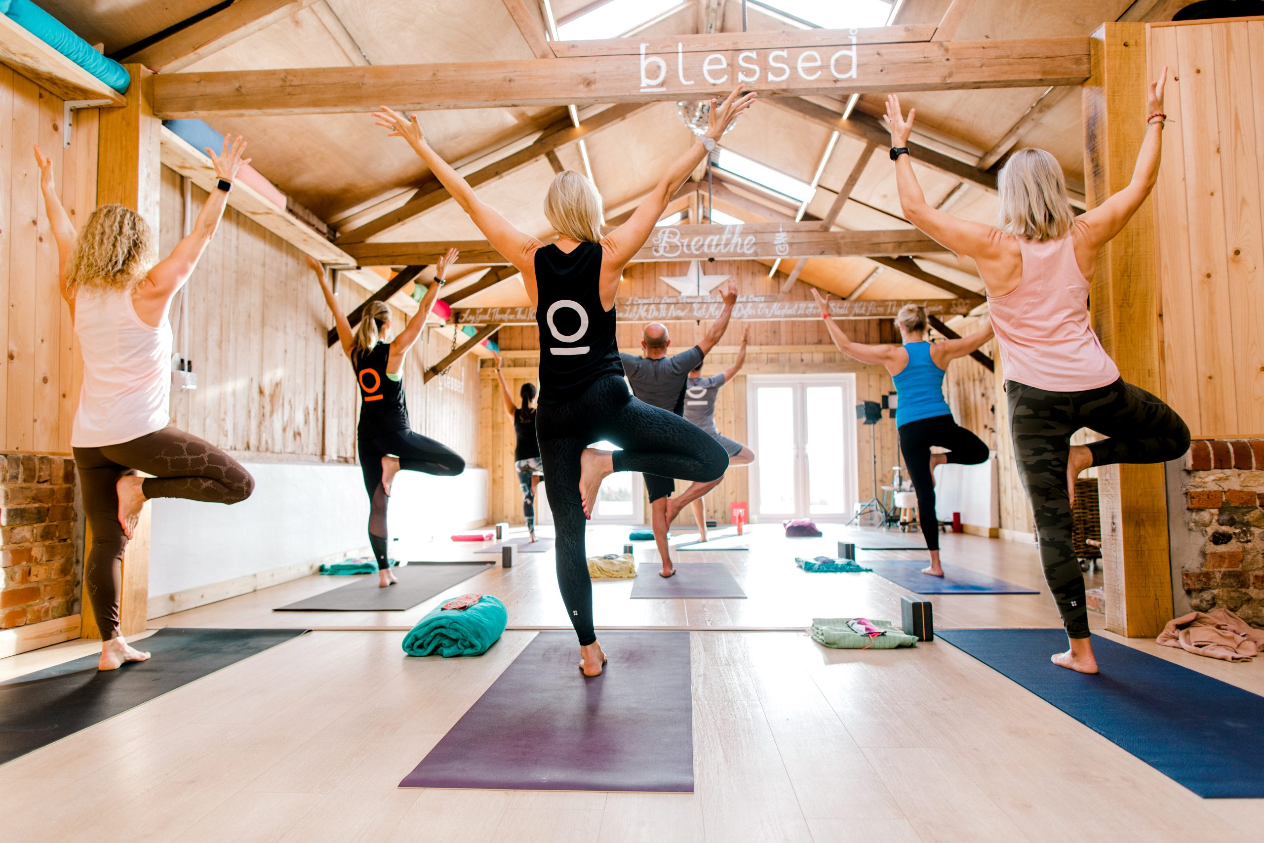 BEGIN NOW! The Blessed way to start your yoga journey